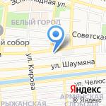 Медиум на карте Астрахани