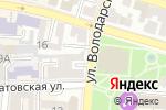 Схема проезда до компании Magic Sun в Астрахани