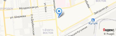 Gold Sun на карте Астрахани
