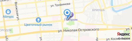 Служба Оперативного Взыскания Астрахань на карте Астрахани