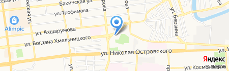 PARADISE GROUP на карте Астрахани