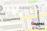 Схема проезда до компании Интро в Астрахани