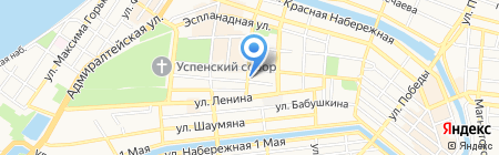 Агентство по делам архивов Астраханской области на карте Астрахани