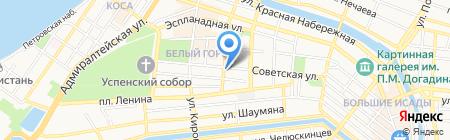 Министерство ЖКХ Астраханской области на карте Астрахани