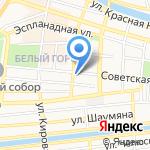 Агентство по управлению государственным имуществом Астраханской области на карте Астрахани