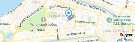 Уполномоченный по правам ребенка в Астраханской области на карте Астрахани