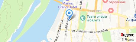 Строительно-торговая фирма на карте Астрахани
