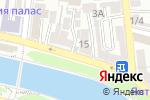 Схема проезда до компании Центр эстетики и подологии в Астрахани