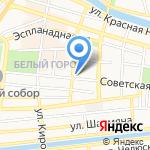Дума Астраханской области на карте Астрахани