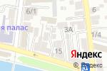 Схема проезда до компании Пегас в Астрахани