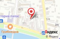Схема проезда до компании Юг в Астрахани