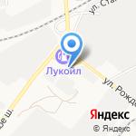 Протектор на карте Астрахани