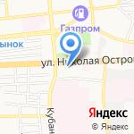 Бактериологическая лаборатория на карте Астрахани