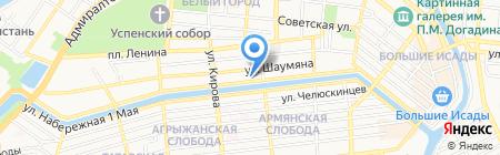 MBAmotors на карте Астрахани