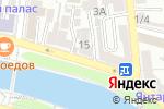 Схема проезда до компании Служба аварийных комиссаров в Астрахани