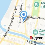 Пограничное Управление ФСБ России по республике Калмыкия и Астраханской области на карте Астрахани