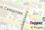 Схема проезда до компании Банкомат, Россельхозбанк в Астрахани