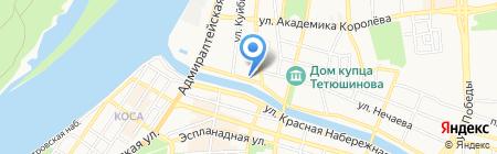 Студия красоты и здоровья на карте Астрахани
