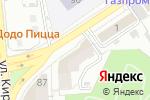 Схема проезда до компании Даймонд-Мед в Астрахани