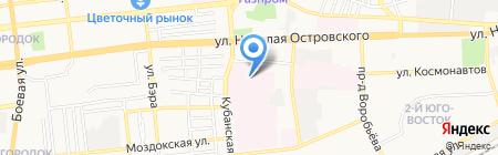 Поликлиническое отделение травматологии и ортопедии с кабинетом неотложной медицинской помощи на карте Астрахани