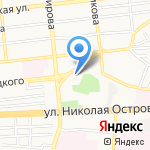 Аркон на карте Астрахани