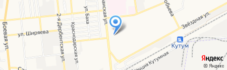 Мишель на карте Астрахани