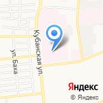 Медико-санитарная часть на карте Астрахани