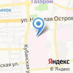 Доброта на карте Астрахани