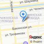 Real Jam на карте Астрахани