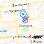 Центр дополнительного образования №1 на карте Астрахани