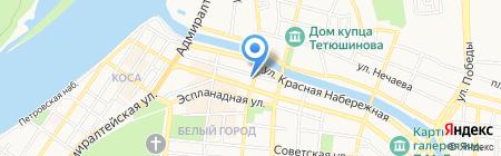 Отделение по делам несовершеннолетних на карте Астрахани