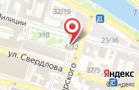Схема проезда до компании Нике в Астрахани