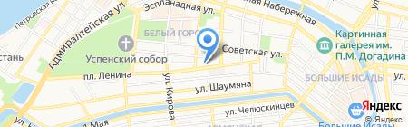 Детский сад №139 Золотое зернышко на карте Астрахани