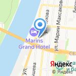 Паркетная мастерская на карте Астрахани