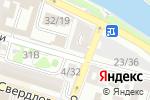 Схема проезда до компании Ассоль в Астрахани