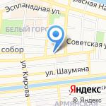 Золотое зернышко на карте Астрахани