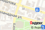 Схема проезда до компании Арт-Нимфа в Астрахани