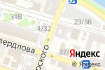 Схема проезда до компании АТПП в Астрахани