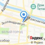 Арт-Нимфа на карте Астрахани