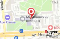 Схема проезда до компании Астраханский базовый медицинский колледж в Астрахани