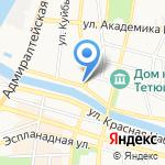 Чудо в доме на карте Астрахани