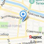 Астраханская государственная филармония на карте Астрахани