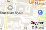 Схема проезда до компании Еленин Сад в Астрахани
