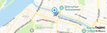 НижнеВолжская Сетевая Компания на карте Астрахани