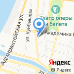 Дорожное радио Астрахань на карте Астрахани