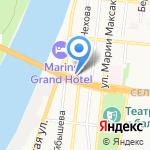 Региональный школьный технопарк на карте Астрахани
