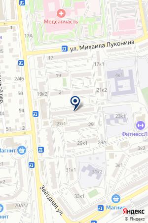 ДЕТСКИЙ САД № 59 на карте Астрахани
