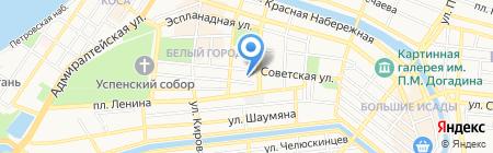 Департамент торговли Министерства экономического развития Астраханской области на карте Астрахани