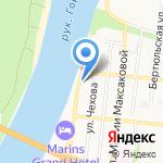 НИЖНЕВОЛЖСКСТРОЙПРОЕКТ на карте Астрахани