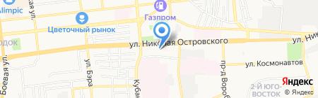 Эталон на карте Астрахани